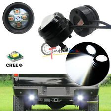 2x High Power Bull Eye 20w CREE LED Projector Light Pickup Backup Reverse Lamps
