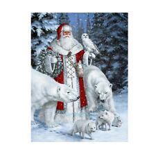 Christmas Santa Claus Animal DIY Diamond Embroidery Painting Cross Stitch Craft