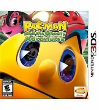 PAC MAN AND THE GHOSTLY ADVENTURES 3DS NEW! FUN FAMILY GAME CLASSIC! GHOST