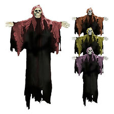 Large Halloween Hooded Skeleton Wall / Door Hanging Decoration (random colour)