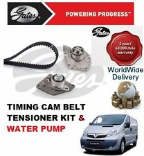 FOR VAUXHALL VIVARO 1.9 2000-2006 TIMING CAM BELT TENSIONER & WATER PUMP KIT