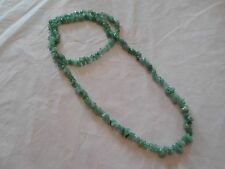 Aventurine Chip Bead Endless Necklace-34 inches-258.50 Carats