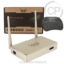 2017 Loolbox Gold Arabic IPTV Box HD Stream 450+ Channels + FREE Keyboard