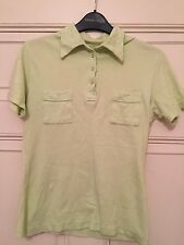 Ted Baker Lime Green Polo T shirt UK 12 / TB 3