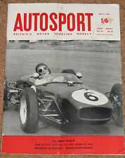 Autosport 17/6/60* INDY 500 - JAGUAR XK 150S ROAD TEST - DUTCH GP REVIEW -SPA GP