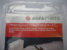 AGFA PHOTO 5-SET PGI-5bk + 8 C+8Y+8 M+8Bk for canon pixma ip4300 ip5300