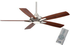 "Minka Aire F1000-BN Dyno LED Brushed Nickel 52"" Ceiling Fan w/Remote Control"