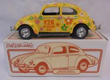 "Volkswagen Beetle Sedan ""Y2K Millennium Bug"" Flower Power ERTL Collectibles"