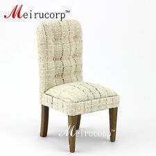 dollhouse 1/12 scale miniature furniture Contracted style Cloth chair