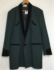TEDDY BOY DRAPE JACKET IN DARK GREEN1950s ROCK 'N' ROLL TRADITIONAL TAILOR