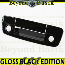 2009-2017 RAM 1500 GLOSS BLACK Tailgate Handle Cover Overlay W/Camera & Keyholes