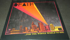 DEATH ...For The Whole World To See (LP) (1975 recordings) (A Band Called Death)