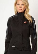 Adidas womens Response Black Tour Rain Running Jacket Medium B1 N33 Z09938