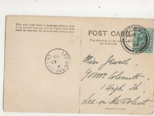 Lee On The Solent A Single Ringle Postmark 19 Aug 1903 451b