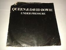"""Queen And David Bowie - """"Under Pressure""""  7"""" (1981) & /  """"Soul Brother""""  / REF7"""