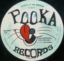 "* * POLKA PARTY 45 ""DOGGIE IN THE WINDOW"": BUD HUNDENSKI/CORSAIRS UNPLAYED MINT!"
