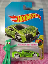 ZOTIC #135✰Sublime Green;TRAP5 white; R✰Art Cars✰2017 i Hot Wheels case F/G