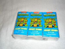 NEW TEENAGE MUTANT NINJA TURTLES 6 PACK OF POCKET TISSUES