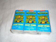 NEW TEENAGE MUTANT NINJA TURTLES 6 PACK OF POCKET TISSUES
