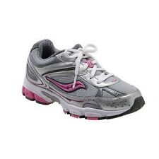 """NEW Saucony """"Grid Ignition 2"""" Tennis SHOES Gray/Silver/Pink Youth Girls! 10.5 W"""