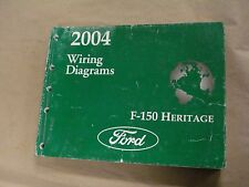 2004 Ford F-150 Heritage Workshop Service Manual Wiring Diagrams Factory Book