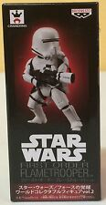 STAR WARS WCF Vol 2 FIRST ORDER FLAMETROOPER FIGURA FIGURE NEW NUEVA