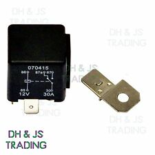 12V Relay 5 PIN Automotive 30AMP 30a Changeover RY7 Detachable Bracket