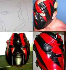 TEMPLATES FOR WWE KANE MASK MOLDING/STENCILS ONLY MAKE YOUR OWN BIG RED MONSTER!