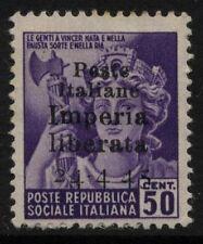 Poste Italiane Imperia Liberata - cent.50 - nuovo