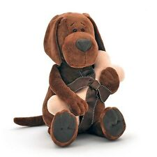 Plush Soft toy the Dog   Cookie the Dog with bone 17'' inch in crafts box