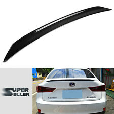 for IS250 IS300h Sedan For LEXUS Carbon B Style Rear Trunk Spoiler Wing