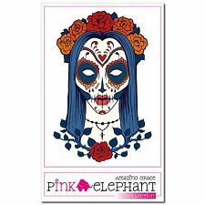 Skullita 01 - A4 - Aufkleber - 20 cm Dia de los muertos Day of the Dead Sticker