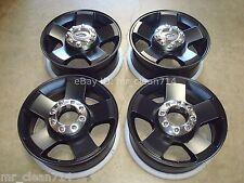 """20"""" Ford F-250 Superduty WHEELS Rims BLACK LARIAT FX4 OEM F250 F350 3644 06 07"""