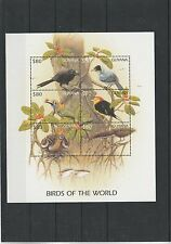 Guyana 6074-6079 KB** - Vögel Guyanas (RT8964)