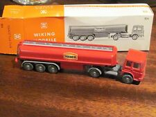 Wiking West Germany Texaco Tank truck 808 with box