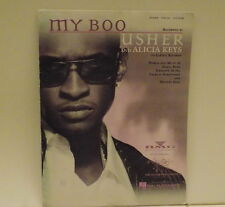 MY BOO Recorded by Usher and Alicia Keys Sheet Music  on La Face Records
