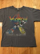 Vintage VOLTRON Defender of the Universe T-Shirt Transformers Mens Sz L Large