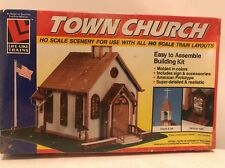 "Life Like Trains ""Town Church"" HO Scale Building Kit New"