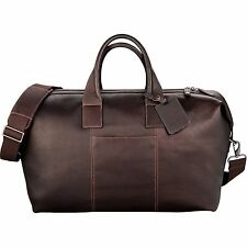 "Kenneth Cole® Colombian Leather 22"" Duffel Bag 9950-30 W/FREE TUMBLER LOOK SEE!"