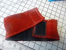 Fancy Red Dots on Red CUSTOM MADE Male Belly Band Handmade