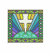 Christ Is The Light Of The World~Beaded Banner Pattern Only