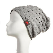 New Ladies Womens Girls Knitted Winter Warm Ski Slouch Beanie Cap Hats Unisex