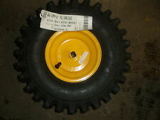 2 stage snowblower tire and wheel 634-04147a yellow yardman part
