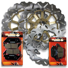 Honda Front + Rear Race Proven Brake Disc Rotor + Pads CBR 600 F3 [1995-1998]