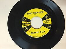ROCKABILLY 45 RPM RECORD - RONNIE SELF - COLUMBIA 4-40989-C