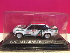 SUPERBE FIAT 131 ABARTH 1000 LAKES RALLY 1979 NEUF SOUS BLISTER 1/43