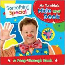 Mr Tumble's Hide and Seek: A Peep-Through Book (Something Special), New,  Book