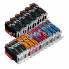 18 PK Canon PGI-250XL CLI-251XL Compatible Ink Cartridge PGI-250 CLI-251 3x4CLR