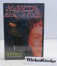 JEFF McBRIDE Magic On Stage Vol 1 DVD The Commando Act - Magic Instruction HowTo