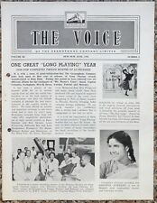 India THE VOICE June 1960 HMV Magazine - My Fair Lady
